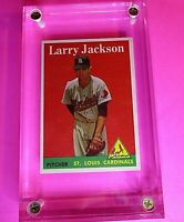 1958 TOPPS Baseball #97 Larry Jackson St Louis Cardinals NrMt+ NM+ HIGH GRADE!