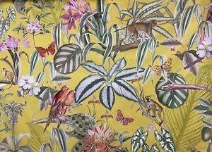 Barbados Citron Fabric By Prestigious Textiles Super Soft Velvet
