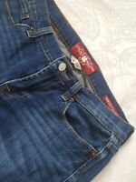 Lucky Brand Womens Size 4 27 Sweet N Crop Jeans Capri Straight Mid Wash Stretch