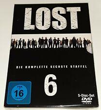 Lost - Staffel 6 [Walt Disney](DVD-2010~FSK-16) Neuwertig und Verpackt