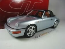 PORSCHE 911 CARRERA 4 TARGA (964) 1/18 GT SPIRIT (ARGENT)