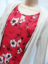 Thin Knit Floral Cardigans Twinsets for Women