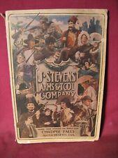 Original 1906 J Stevens Arms & Tool Company Catalog