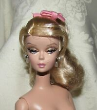 Nude Barbie AA Long Curly Brown Haired Model Muse Barbie