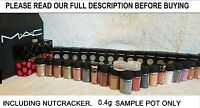 MAC Pigment, MAC Glitter Eyeshadow 0.4g Pot *Sample size* Discount on Bundle Buy
