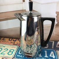 Vintage EMDEKO Coffee Perculator by REGAL WARE 4-10 Cup Art Deco Rare WI USA