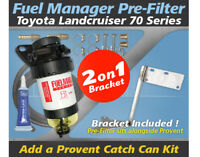 Fuel Manager Pre Filter Bracket Kit OS-30-FMB for Toyota Landcruiser 70 Series