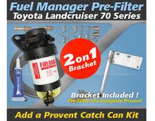 Fuel Manager Pre Filter Bracket Kit PROV-30PFB for Toyota Landcruiser 70 Series