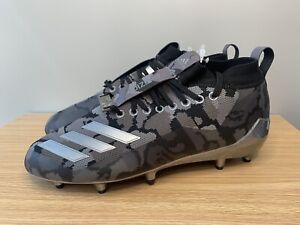 Adidas x Bape Adizero Black Camo Men Size 8 Football Cleats EE7074 Bathing Ape