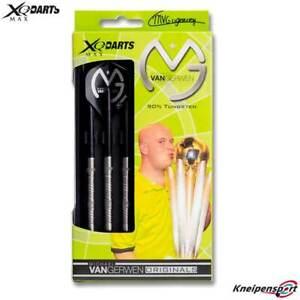 XQ Max Michael van Gerwen Original T60 Tungsten Darts - 25g Steel Tip