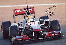 Lewis Hamilton F1 MERCEDES 2011 autograph, IP signed photo