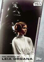 Women of Star Wars THE JOURNEY OF LEIA ORGANA Trading Card Insert JL-2