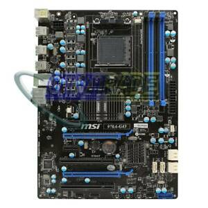 FOR MSI 970A-G43 Motherboard MS-7693, Socket AM3+, AMD 970 Chipset, DDR3 Memory
