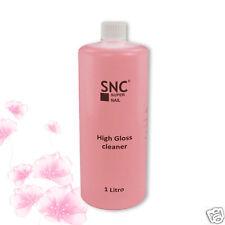Cleaner HIGH GLOSS Sgrassatore Lucidante 1 litro Ricostruzione unghie gel UV SNC