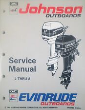 1993 Johnson Evinrude 2 2.3 3.3 4 5 6 8 HP Outboard Shop Service Repair Manual