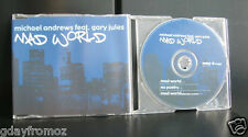 Michael Andrews feat Gary Jules - Mad World 3 Track CD Single