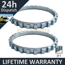 2X FOR VAUXHALL OPEL CORSA B MK1 COMBO 29 TOOTH 66.91MM ABS RELUCTOR RING AR0704