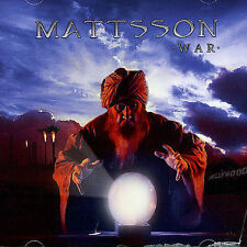 Lars Eric Mattsson - War (CD, 2005, Lion Music, Finland)