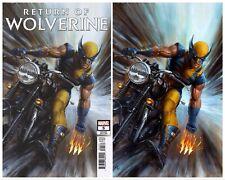 RETURN OF WOLVERINE #5 ADI GRANOV EXCLUSIVE 1:25 & VIRGIN VARIANT COVER SET