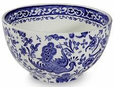 Burleigh Blue Regal Peacock large sugar bowl 12cm