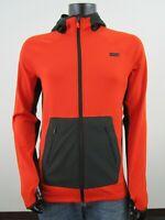 NWT Mens M Mountain Hardwear Terabyte Long Sleeve Hoody Polartec Jacket Orange
