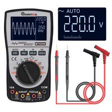 2in1 Upgraded MUSTOOL MT8206 Intelligent Digital Oscilloscope Multimeter A/DC US