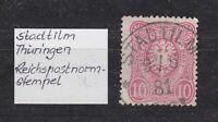 """DR - Stempel K1 """"STADTILM"""" (Thüringen), 9 / 6 81 - bitte ansehen !"""