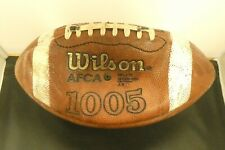NCAA College Football Game Used Wilson Ball Northwestern From Penn State