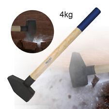 Vorschlaghammer 4kg Hammer mit Stielschutz Hickory Holzstiel 63cm