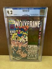 Wolverine 75 CGC 9.2 🔥Siege of Darkness 8 pgs🔥Kaybee Toystore Insert🔥 Key