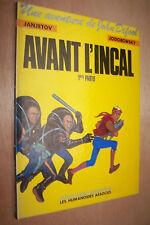 Avant l'Incal 1 première édition 1988 TBE Janjetov Jodorowski