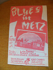 Partition Blues in Metz Robert Villa Le Chêne Bistuer