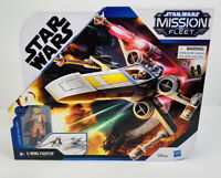 Star Wars Mission Fleet  X-Wing Fighter with Luke Skywalker Figure