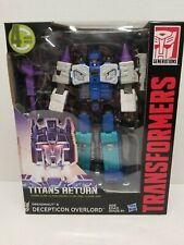 Transformers TITANS RETURN DREADNAUT & OVERLORD LEADER CLASS FIGURE NEW