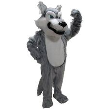 Grey Wolf Professional Quality Mascot Costume Adult Size