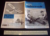 Vintage Model Aircraft Magazine (July 1960) DC Tornado & Krick Tomboy Eng Tests