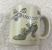 Sandy's Closet Lillian 1999 Sandy Lynam Clough Coffee Tea Mug Cup Vintage