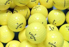 20 Callaway Mix Yellow Pearl/A Golf Balls