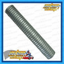 GO KART LARGE EXHAUST FLEX 50MM OD x 300MM LONG SUITS 125CC & SOME 100CC ENG