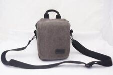 Gray Canvas Bag Case For Canon EOS M10 M2 M3 G1X G7X SX170 SX520 G16 G15 Camera