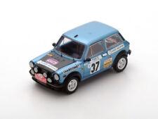 1 43 Spark Autobianchi A112 #37 Rally Monte Carlo Mouton/conconi 1977