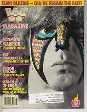 WWF Magazine July 1992 The Ultimate Warrior, British Bulldog , Undertaker / q2