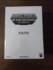 MOTU Classics Fisto RARE SHIPS Worldwide   NEW