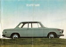 BMW 1600 Coupe 1966-67 UK Market Launch Leaflet Sales Brochure 02 Series