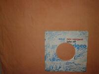 Perigeo – Fata Morgana  - Copertina Forata Per Disco Vinile 45 Giri