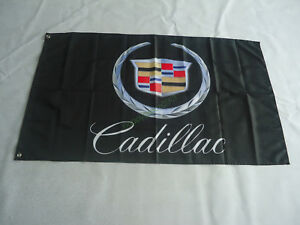 Banner Flag for Cadillac Flag 3x5 FT Garage Wall decor Advertising Promotion