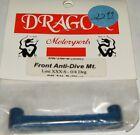 Dragon Motorsports Team Losi XXX-S Front Anti Dive Mount 0/4 Degree DR-246-B