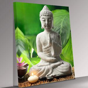 Buddha meditation Canvas Wall Art Picture Print