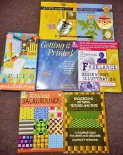 Graphic Design Guides & Resources Dover Pictura Nouveau Vector Freelance 7 books