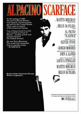 Scarface Reproduction Thriller Film Posters